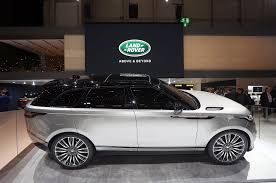 mercedes land rover matte black 2018 land rover range rover velar first look