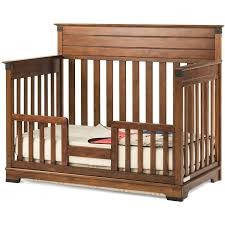 Convertible Cribs Reviews Child Craft Redmond 4 In 1 Convertible Crib Cherry Walmart
