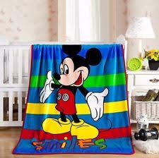 mickey mouse blanket ebay