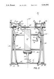 patente us5181896 incline press exercise machine google patentes