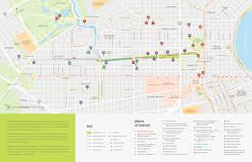 Map New Orleans by Map Friends Of Lafitte Greenway