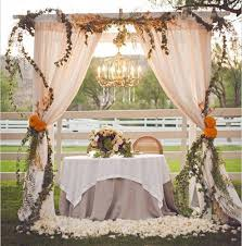 wedding theme ideas orange wedding theme