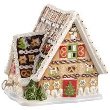 christmas toys musical gingerbread house 5 x 6 in villeroy u0026 boch