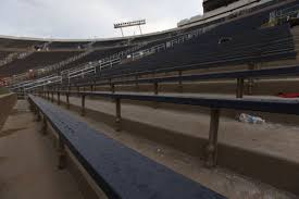 seats are two inches wider at new notre dame stadium yes it u0027s a