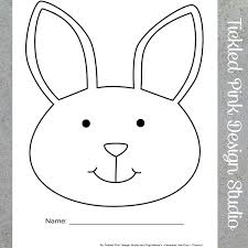 bunny color sheet printable freebie archives digi mama u0027s