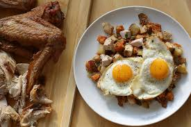 recipe turkey bacon hash with eggs sfgate