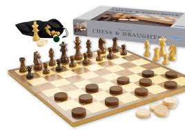chess and draughts set amazon co uk toys u0026 games