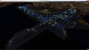 runway end identifier lights lighting