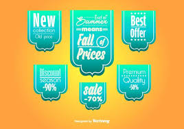 ribbons for sale big sale ribbons templates free vector stock