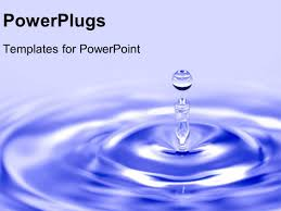 Water Powerpoint Templates by Powerpoint Template Earth In Water Drop Showing Save Water Save