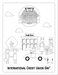 d day coloring pages color a page and help us celebrate international credit union day