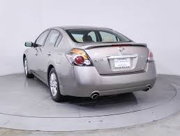 nissan altima for sale low miles used 2012 nissan altima s sedan for sale in miami fl 83334
