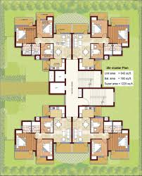 the multipliers property gurgaon commercial residential floor plan