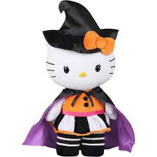 decoration de halloween hello kitty greeter halloween decoration walmart com