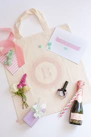 bridesmaid gift bags 10 steps to the cutest personalised bridesmaid gift onefabday