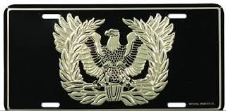 warrant officer license plate