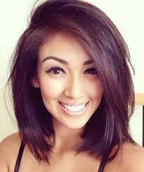 womans hairstyles for small faces hairstyle for asian not straight hair round face google search