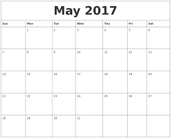 may 2017 calendar word weekly template templates 2018 j saneme