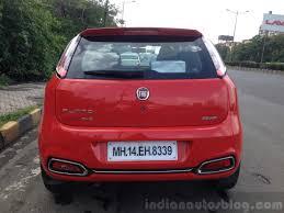 fiat punto 2014 2014 fiat punto evo sport live rear indian autos blog