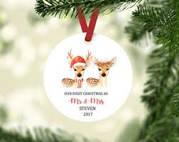 our ornament deer etsy