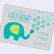 photo pink elephant baby shower image