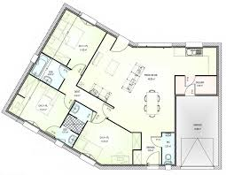 plan de maison en v plain pied 4 chambres plan de maison en v plain pied newsindo co