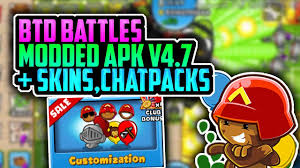 bloons td battles apk bloons td battles hack v4 7 modded apk with skins chatpacks