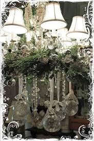 How To Decorate A Chandelier Best 25 Christmas Chandelier Decor Ideas On Pinterest Christmas