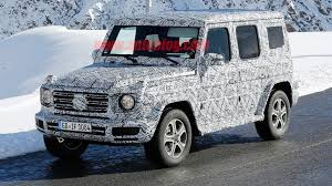 mercedes that looks like a jeep major mercedes g class changes hide its iconic