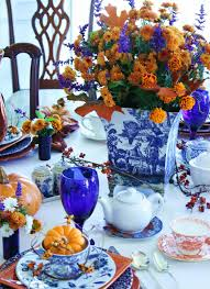table set decor ideas for thanksgiving dinner