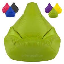 xxl tall gamer bean bags beanbag chair high back gaming seat