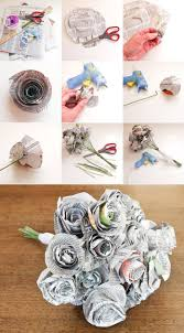 best 25 newspaper flowers ideas on pinterest diy wall flowers