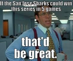 San Jose Sharks Meme - cmon sharks quickmeme