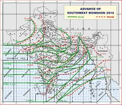 India Weather Map by Monsoon This Lesson Is A Primaer About The Importance Of The