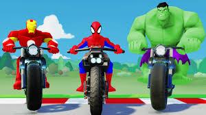the avengers the hulk spiderman u0026 iron man finger family