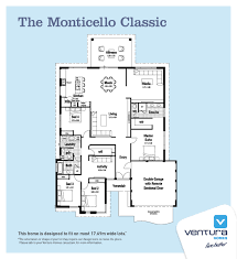 floor plan of monticello the monticello ventura homes my modern home pinterest