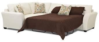 Tempurpedic Sleeper Sofa Mattress Transitional 2 Piece Sectional Sleeper Sofa With Innerspring