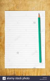 blank paper to write on writing notes concept graphite pencil and of blank paper as
