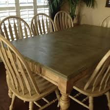 oak kitchen table and chairs refinished my old oak dining table and chairs with annie sloan chalk