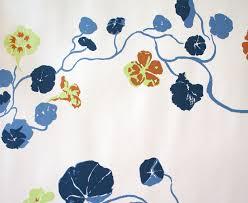 nasturtium lake august wallpaper collections hand printed