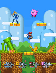 smash bros 64 battle royale battle fanon wiki smash bros pixel demake pixel artist junkboy source jnkboy