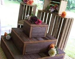 Rustic Wedding Decorations For Sale Pick Me Sale Cupcake Stand Crates Bundle Rustic Wedding