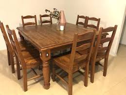 rustic square dining table square dining table 316 rustic look square dining table with 8