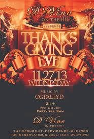 thanksgiving party flyer goingout com d u0027vine on the hill event thanksgiving eve bash