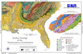 Map Of The Southeastern United States by Se Maps Regional Maps Home