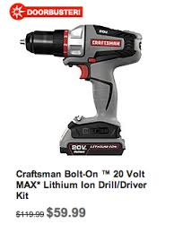 black friday impact driver sears black friday door busters craftsman drill for 59 99 rca