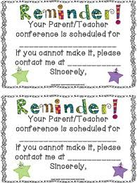 free conference reminder note by terra kubert teachers pay teachers