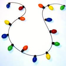 christmas light necklace candy christmas lights