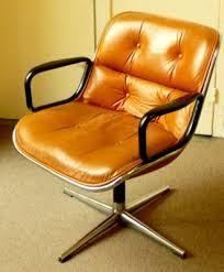 fauteuil de bureau cuir vintage fauteuil cuir vintage design pollock pas cher meubles
