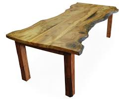 tree salvage reclaimed wood table inhabitat green design